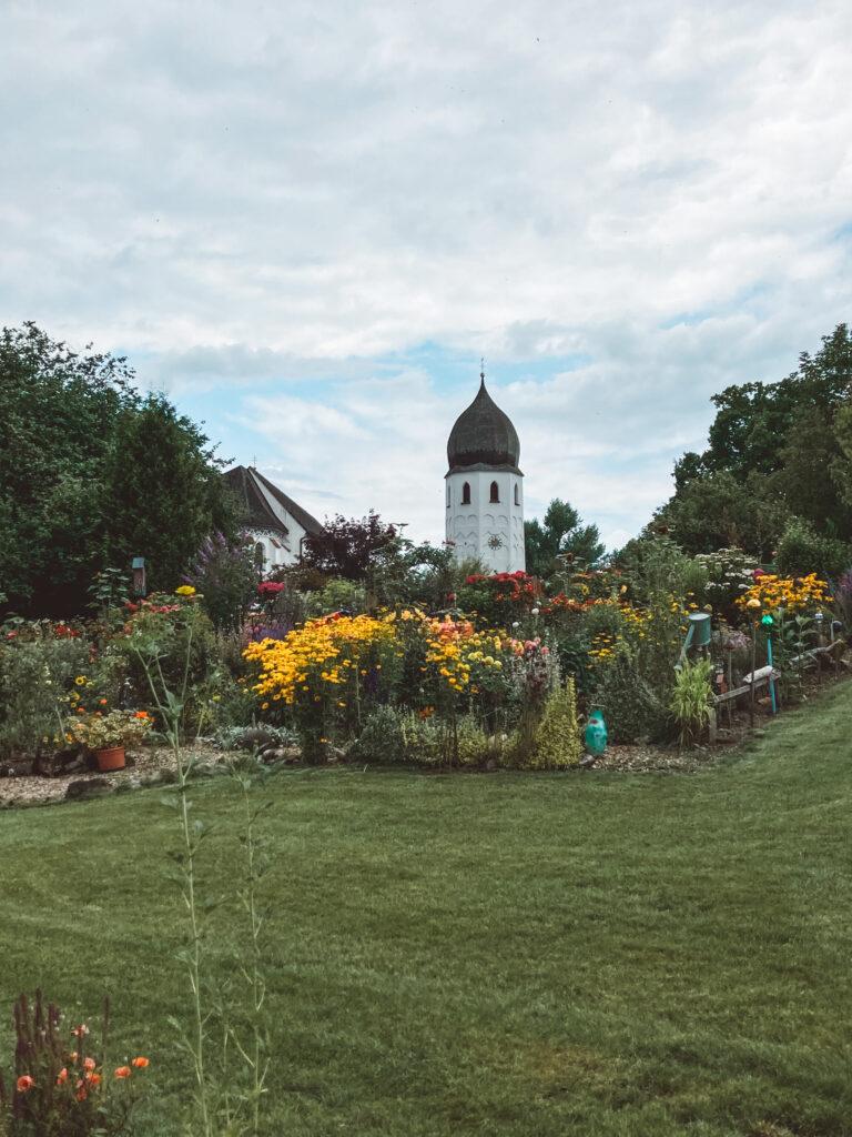 Kirche auf der Fraueninsel Chiemsee Bayern