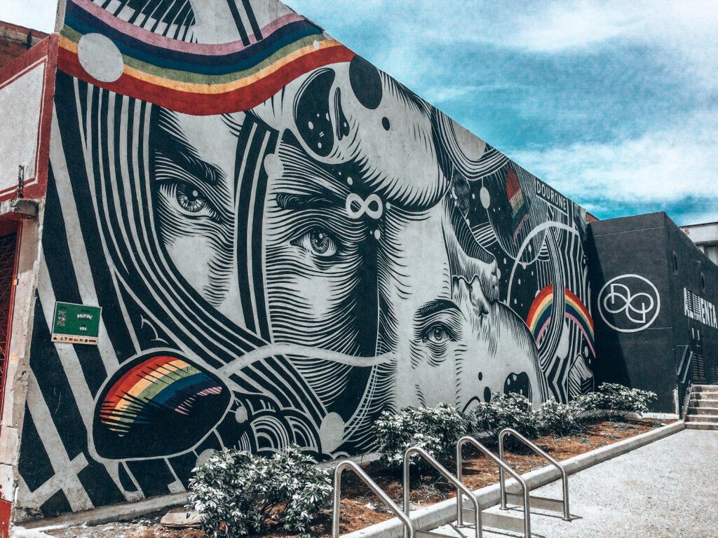 Grafitti in Medellín.