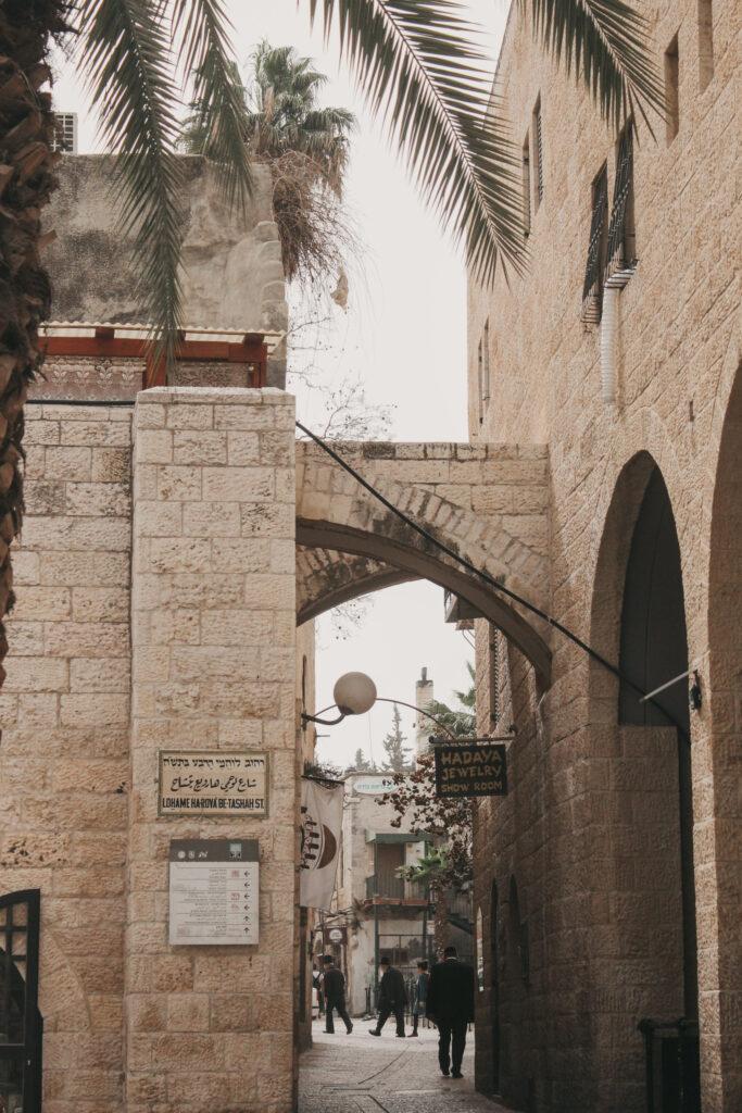 Gassen-von-Jerusalem-in-Israel