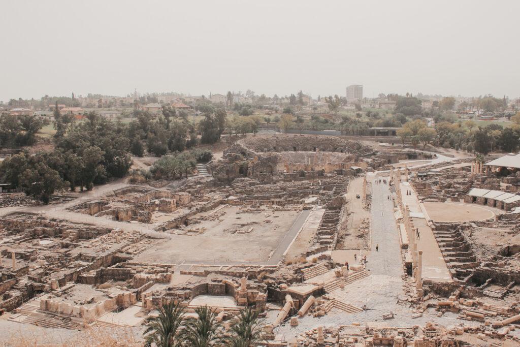 Aussicht-auf-den-Nationalpark-Bet-She'an-in-Israel-Nazareth